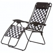 Faulkner  Recliner Padded Checkered   NT03-0405 - Camping and Lifestyle