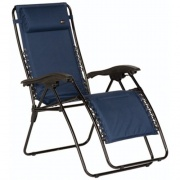 Faulkner  Recliner Padded Blue   NT03-0421 - Camping and Lifestyle