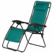 Faulkner  Recliner Padded Green   NT03-0424 - Camping and Lifestyle