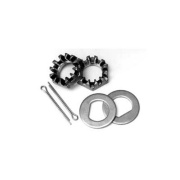 "Dexter Axle  Nuts/Washers/Cotter Keys Kit 12\"" X 2\\"" 8K HUnderbed System   NT46-3070 - Wheels and Parts"
