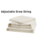 Lippert  Adjustable Sheet Set, Ivory, Bunk (Cots & Bunks)  NT03-1069 - Bedding
