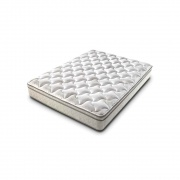 "Lippert  Queen Mattress, Rest Easy Euro Top, 60\"" X 80\\"" X 9\\""  NT03-0791 - Bedding"