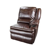 Lippert  Momentum Left Recliner Heat/Massage/Lights Chocolate  NT03-2272 - Interior Chairs - RV Part Shop Canada