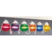 Polymer  6-Light Globes Multi-Color   NT18-2007 - Patio Lighting