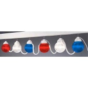 Polymer  6-Light Globes Patriotic   NT18-2009 - Patio Lighting