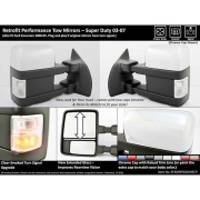 Pro EFX  Tow Mirror Set 3-10 Ford Super-Duty   NT20-4332 - Towing Mirrors - RV Part Shop Canada