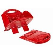 B&R Plastics  Folding Colander Red  NT03-4621 - Kitchen - RV Part Shop Canada