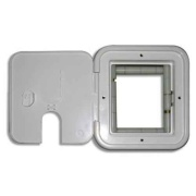 "Surge Guard  Silver Access Door 5\\""Wx6\\""H  NT18-7678 - Power Cords - RV Part Shop Canada"
