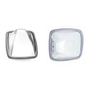 """Velvac  6-1/2\\"""" X 6\\"""" Convex Side Stainless Steel 1/Pk   NT95-0670 - Towing Mirrors"""