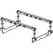 Pullrite  Superrail Brackets & Hardware Only   NT14-2813 - Fifth Wheel Installation Brackets - RV Part Shop Canada