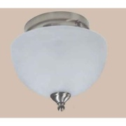 ITC  3 Bulb Nickel 4200 Glass   NT18-2295 - Lighting