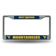Power Decal  West Virginia Chrome Fram   NT70-0515 - License Plates