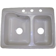 Duo-Form  Recessed Double Sink 5-7Depth   NT10-1013 - Sinks - RV Part Shop Canada