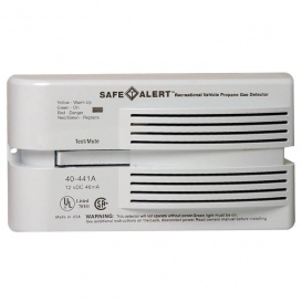 Buy Safe-T-Alert 40441PWT LP Gas Alarm Surface Mount - Safety and