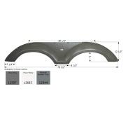 Icon  Coachmen Tandem FS2597 - Midnight Metallic Gray  NT71-6241 - Fenders - RV Part Shop Canada