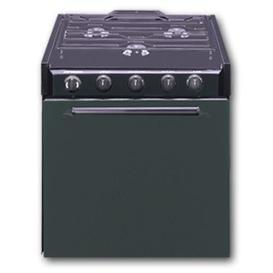 """Buy Suburban 3615A 22"""" Black Range 3 Burner Steel Door - Ranges and"""