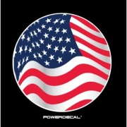 Power Decal  Powerdecal American Flag   NT03-1630 - Auxiliary Lights - RV Part Shop Canada
