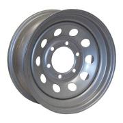 Americana  15X6 Trailer Wheel Mini Modular 5H-4.5 Chrome RIV   NT17-0341 - Wheels and Parts - RV Part Shop Canada