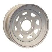 Americana  16X6 Trailer Wheel Spoke 6H Galvanized   NT17-0346 - Wheels and Parts - RV Part Shop Canada