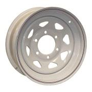 Americana  16X6 HD Trailer Wheel Spoke 8H-6.5 Galvanized   NT17-0354 - Wheels and Parts - RV Part Shop Canada