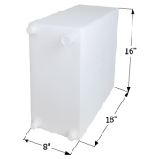 Icon  Fresh Water Tank WT2465 - 10 Gal  NT10-1613 - Freshwater - RV Part Shop Canada