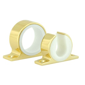 Buy Lee's Tackle MC70GL Single Rod Rack Set - Bright Gold Finish -