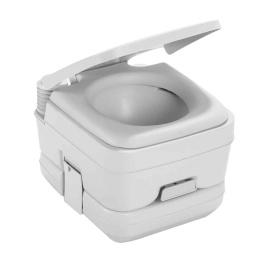 964 Portable Toilet w/Mounting Brackets - 2.5 Gallon - Platinum