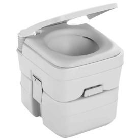965 MSD Portable Toilet w/Mounting Brackets - 5 Gallon - Platinum
