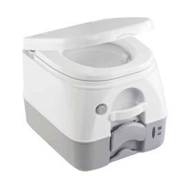 974 Portable Toilet w/Mounting Brackets -2.6 Gallon - Grey