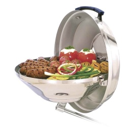 Marine Kettle Charcoal Grill w/Hinged Lid