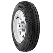 Americana  Wheel/Tire 4L 480X12-B Spoke Galvanized   NT17-0194 - Trailer Tires