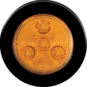 """Optronics  Amber LED Round 2\\"""" Sealed Clearance/Marker   NT18-1023 - Towing Electrical"""