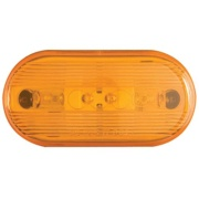 Optronics  Amber Lens For Oval Clearance Light   NT18-1290 - Towing Electrical - RV Part Shop Canada