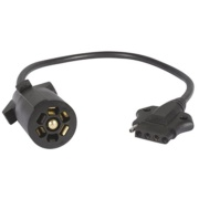 Optronics  5 Flat To 7 Round Adapter w/Cable   NT19-3272 - Towing Electrical - RV Part Shop Canada